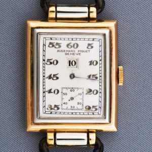 1928 White- and Pink-Gold Wristwatch
