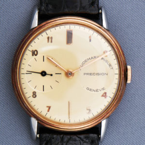1943 Gold and Steel Wristwatch