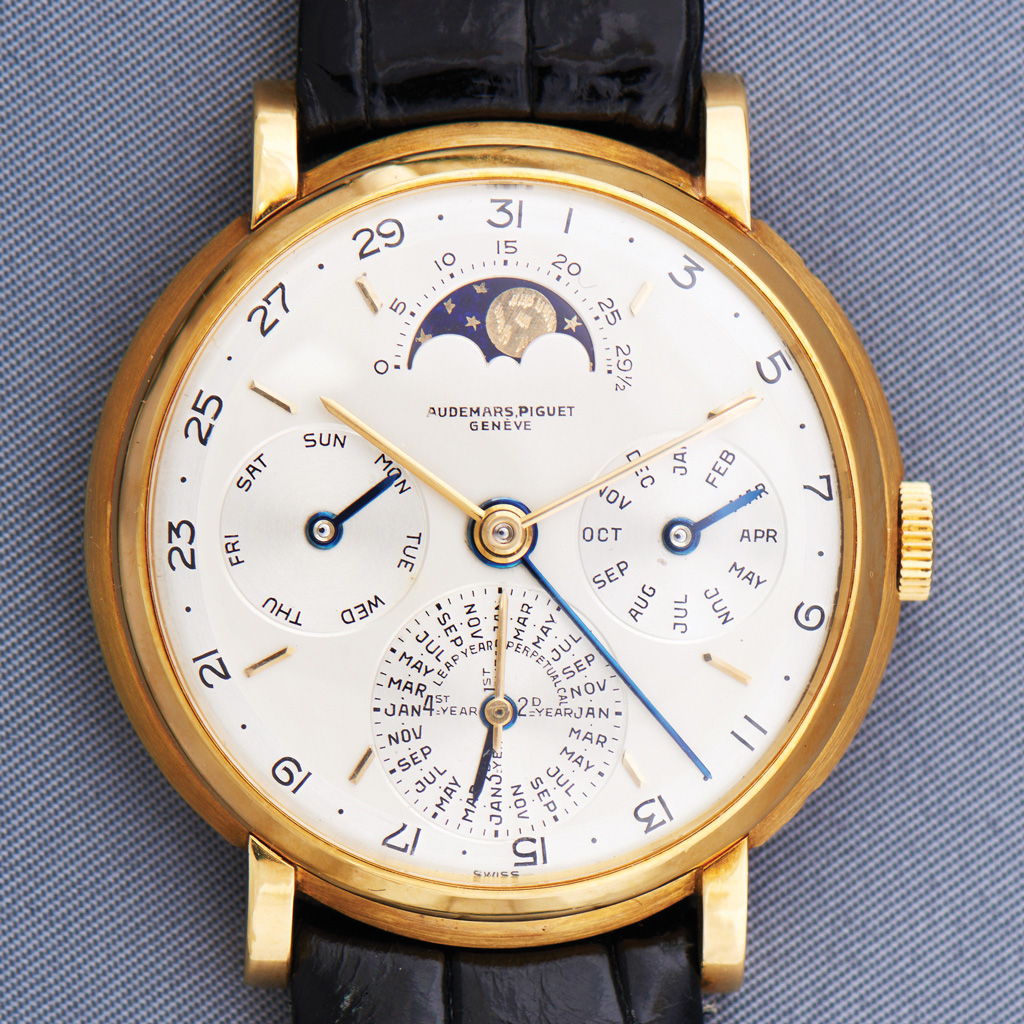 1955 Yellow-Gold Perpetual Calendar