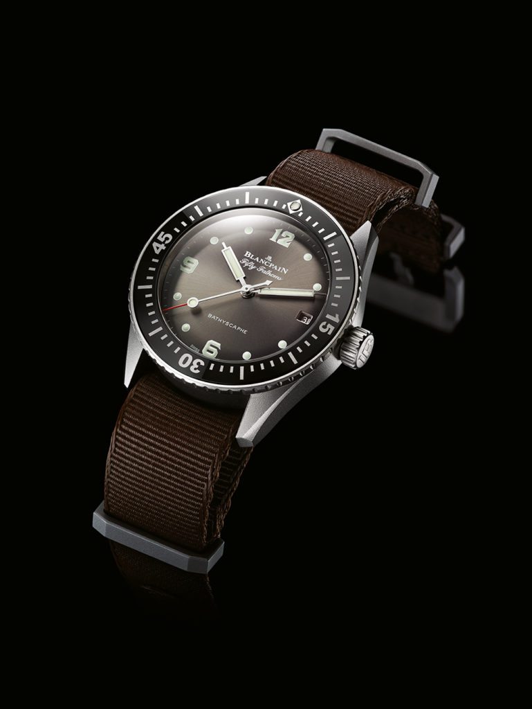 The Blancpain Fifty Fathoms Bathyscaphe Revolution Special Edition