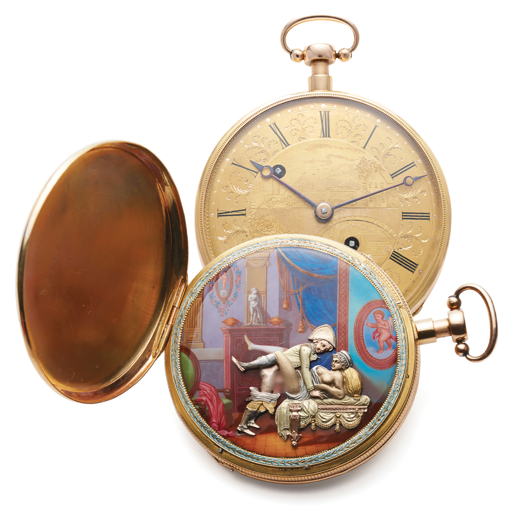 A Bovet pocket watch, circa 1810, sold by Antiquorum in 2015