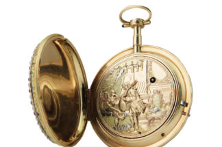 Jaquet Droz Erotic Pocket Watch N°24 made for the Chinese market, circa 1790