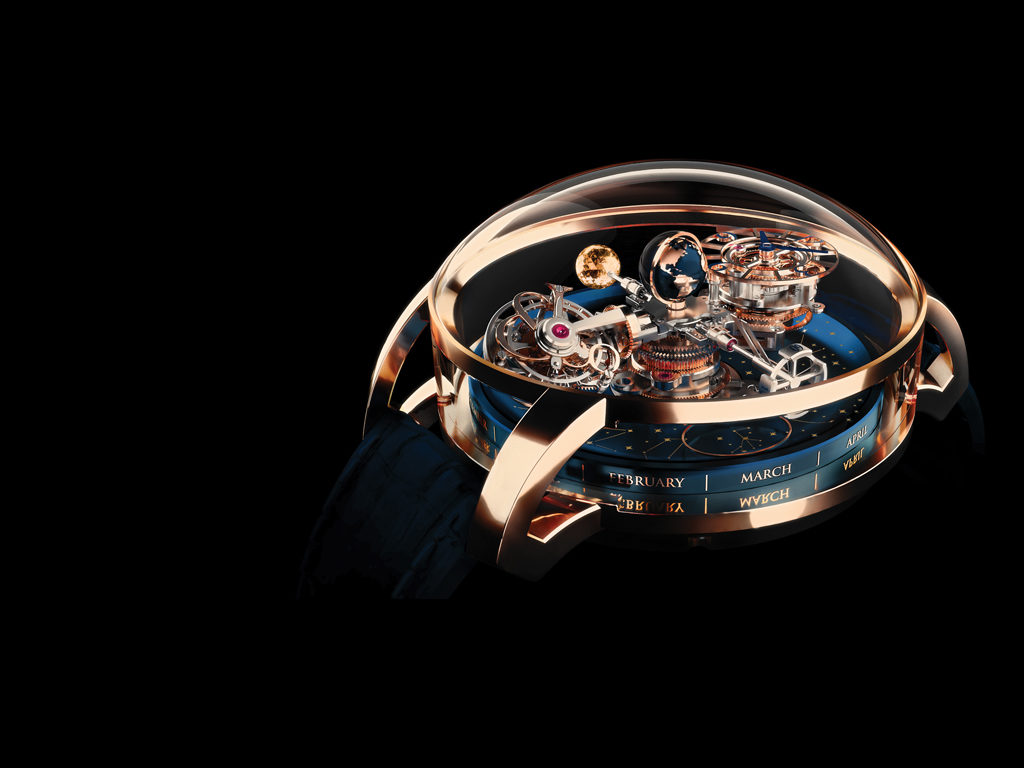 Jacob & Co. Astronomia Triple Axis Gravitational Tourbillon
