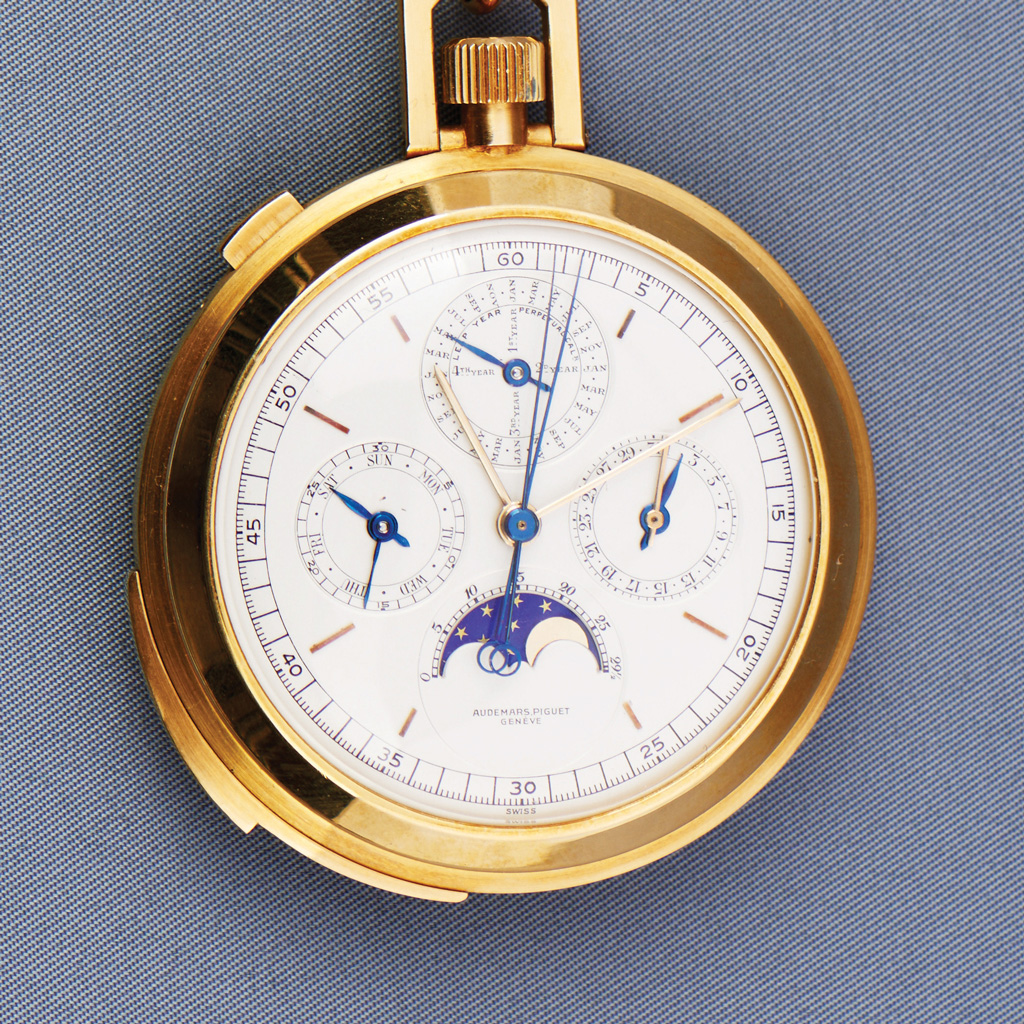 1969 Yellow-Gold, Open Face Minute Repeater