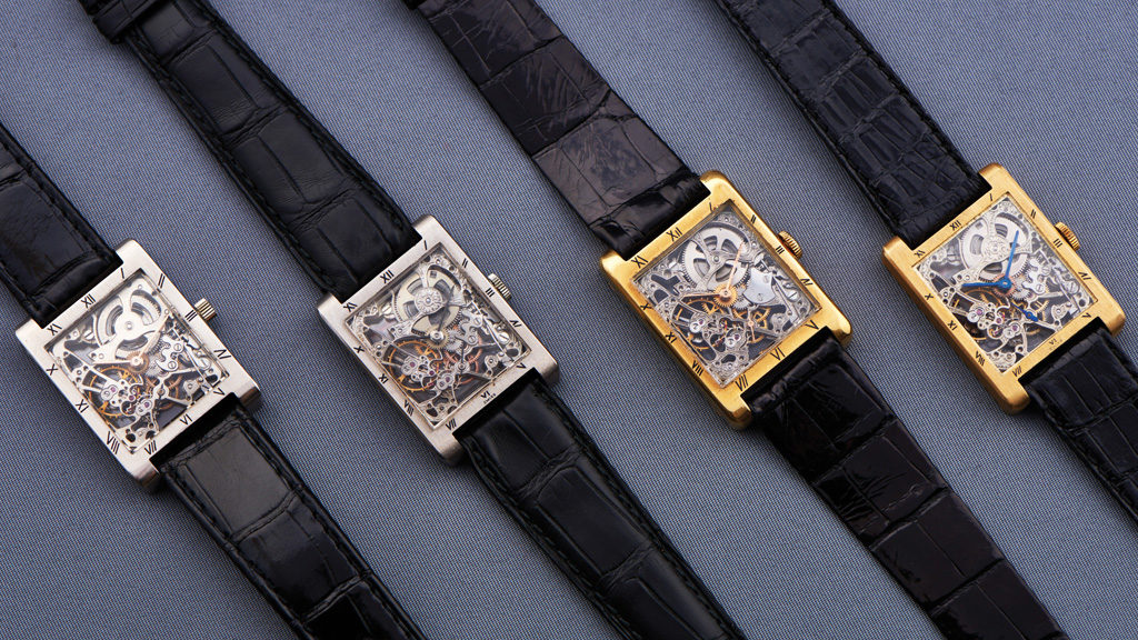 Rectangular Skeleton Watches (1926-1953)