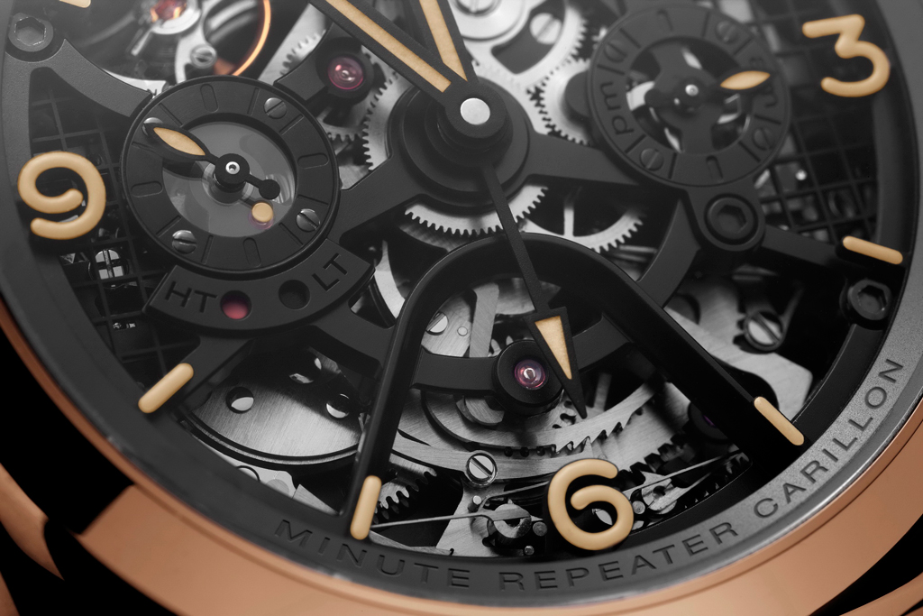 RADIOMIR 1940 MINUTE REPEATER CARILLON PAM600 - Dail Detail
