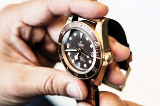 The Tudor Black Bay Bronze