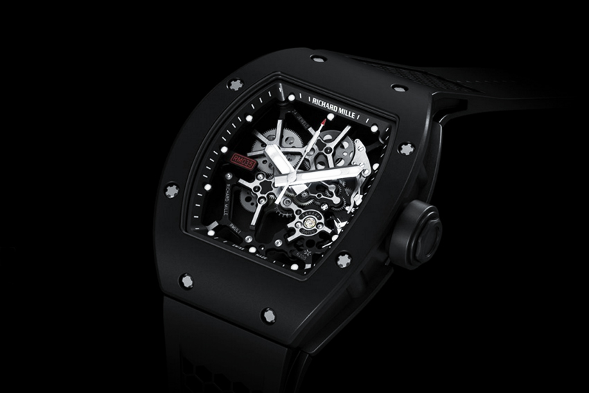"""The Richard Mille RM 035 Rafael Nadal, also known as the """"Baby Nadal"""" (2011)"""