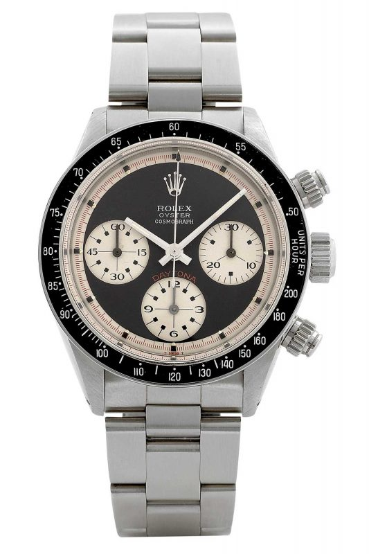 The highly disputed ROC dial ref. 6263 Paul Newman Daytona.