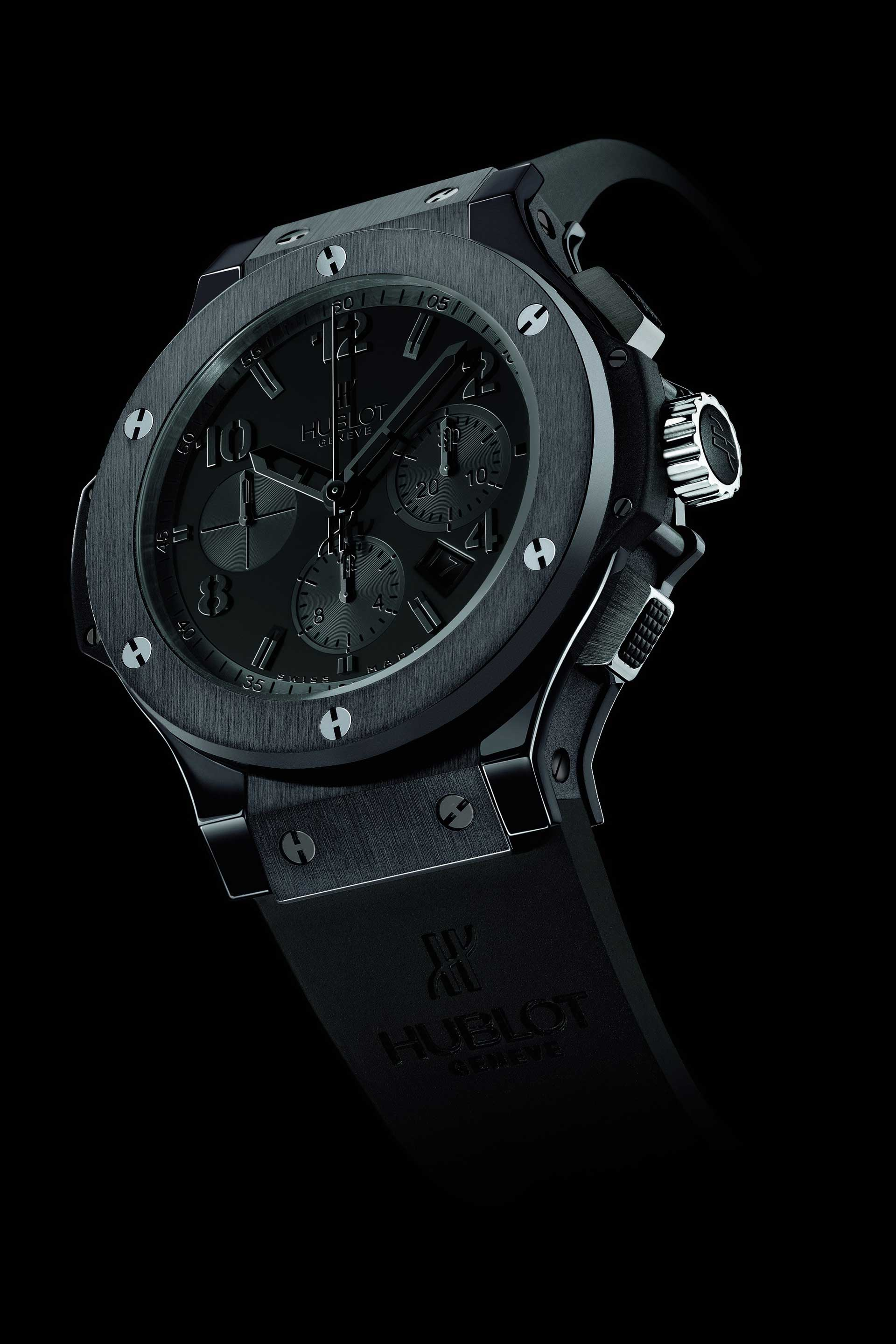 The original Hublot Big Bang All Black created in 2006.