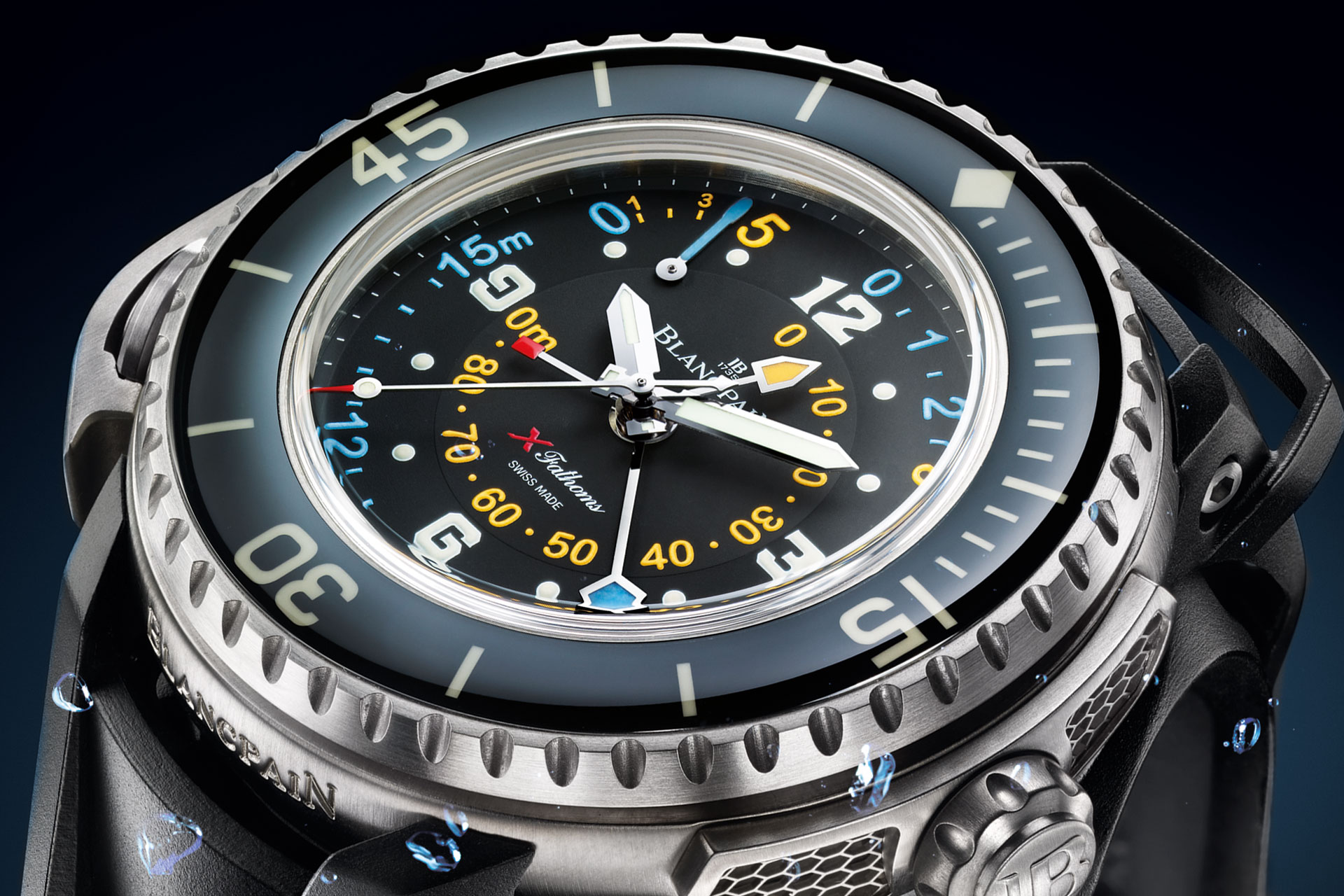 From Fifty Fathoms To X Fathoms Blancpain Revolution Watch