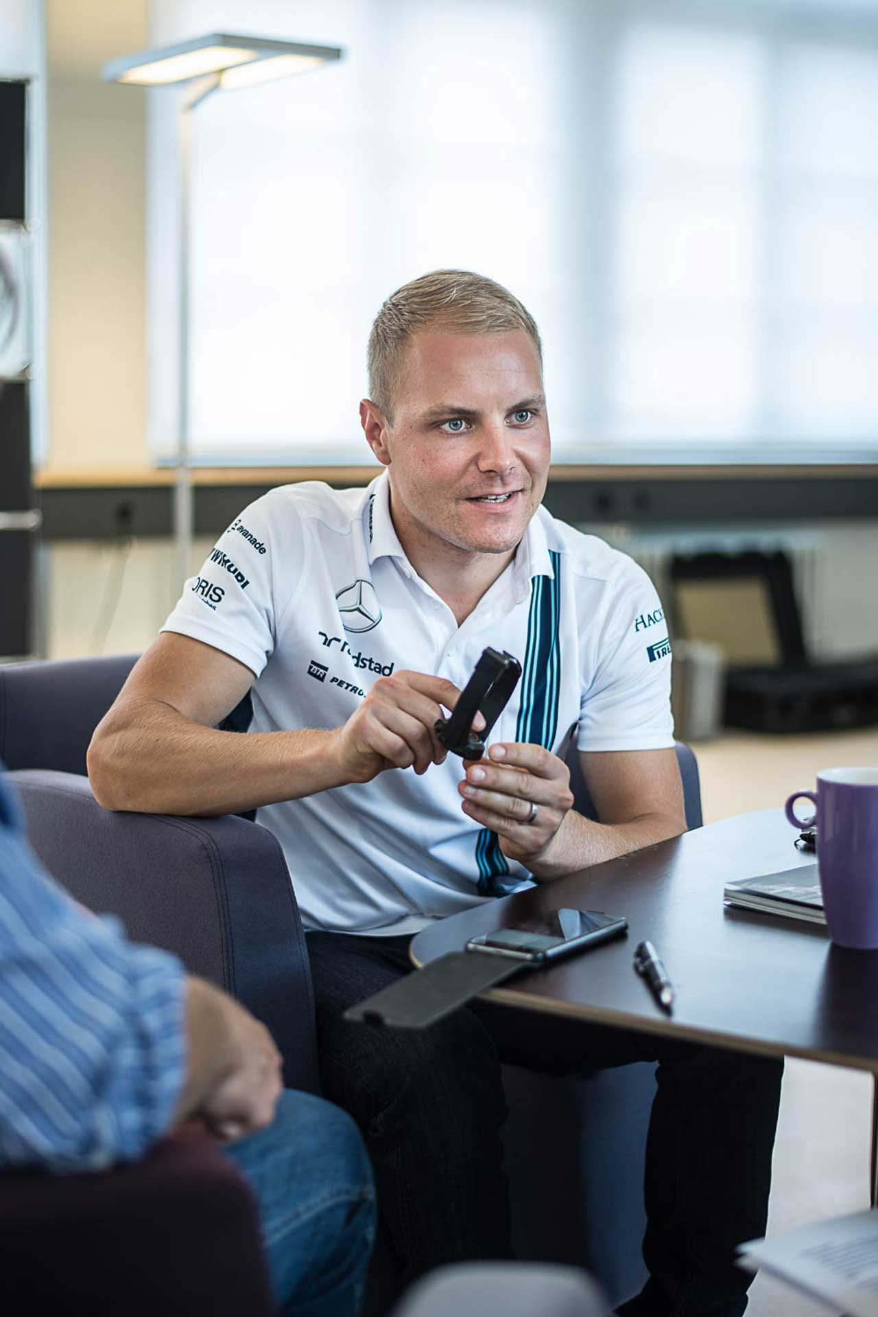 Talking Cars and Watches with F1 Driver Valtteri Bottas - Revolution