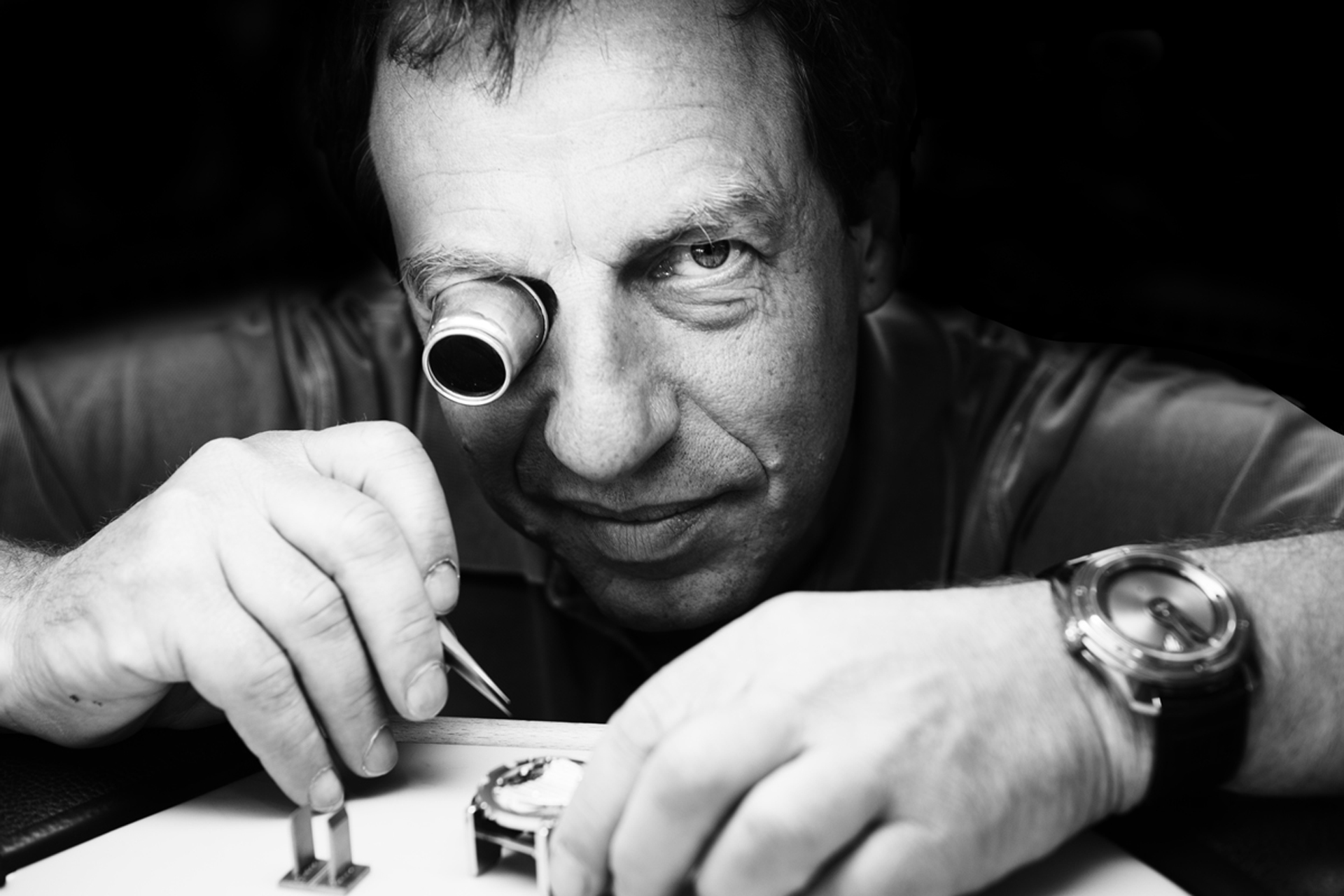 Master Watchmaker and Co-Founder of De Bethune, Denis Flageollet