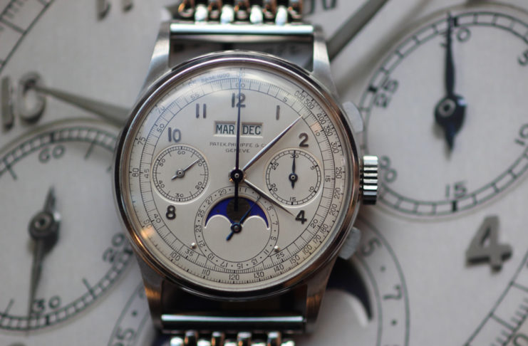 The world's most expensive Patek Philippe, a steel 1518 sold by Phillips for USD 11 million in late 2016