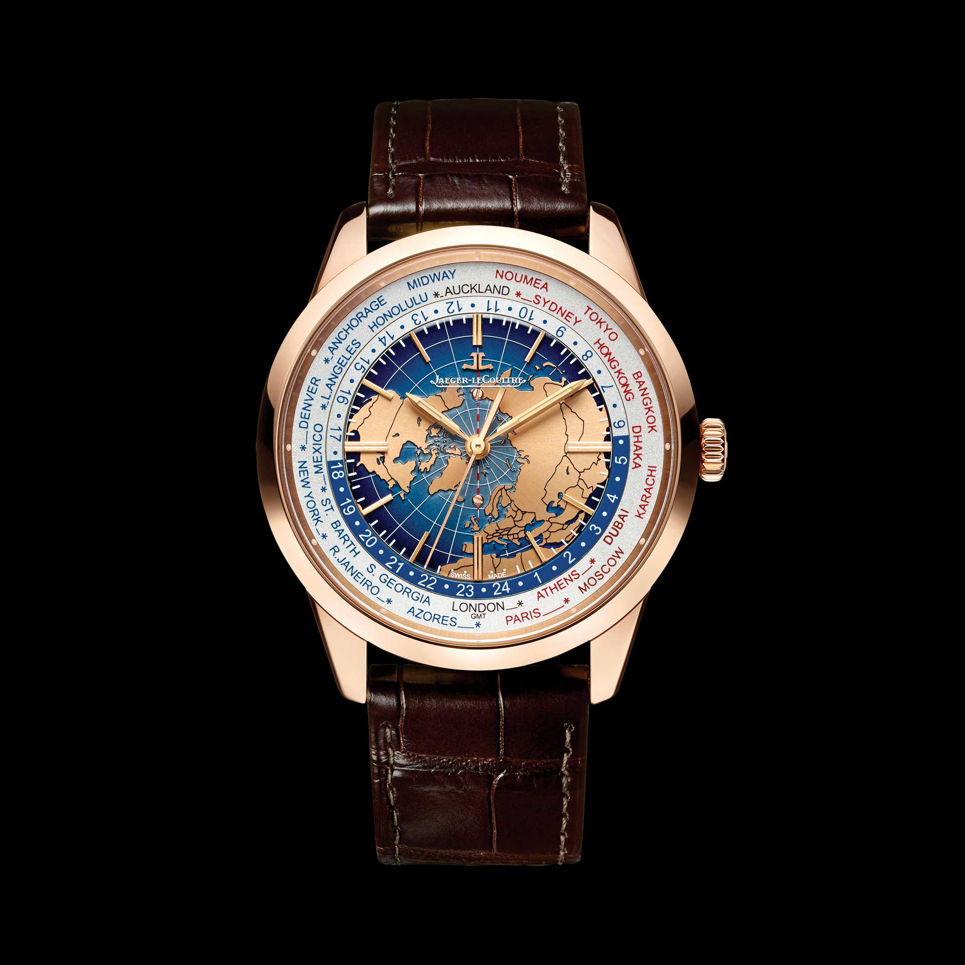 World premiere the geophysic tourbillon universal time for Geophysic watches