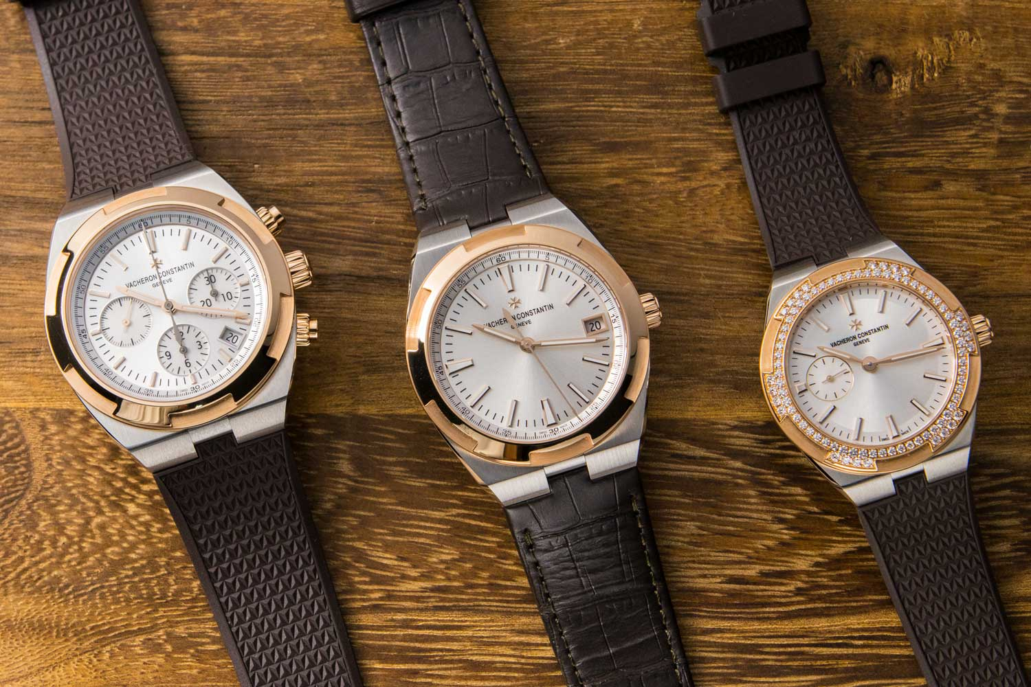 Vacheron Constantin's trio of two-tone watches in 2017