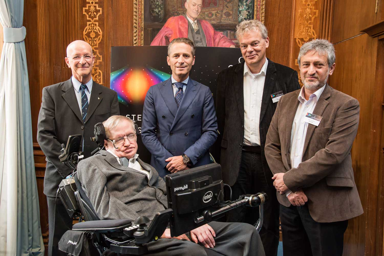 Claude-Nicollier, Professor Stephen Hawking, Raynald Aeschlimann, Edvard Moser, Garik Israelian