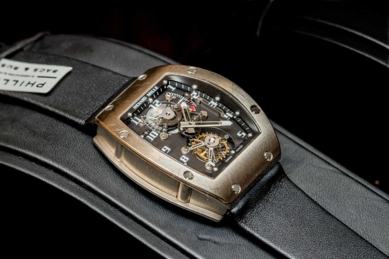 The Richard Mille RM 001 Tourbillon
