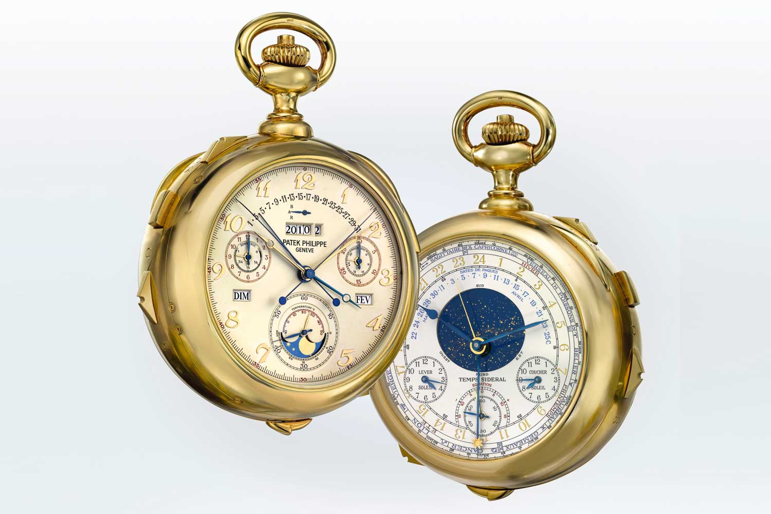 Patek Philippe Cal. 89, packed with 33 stellar complications for the maison's 150th anniversary