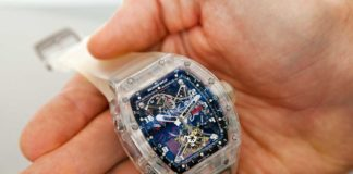 Richard Mille RM 056 Prototype No. 2 at Christie's 2017 NY sale