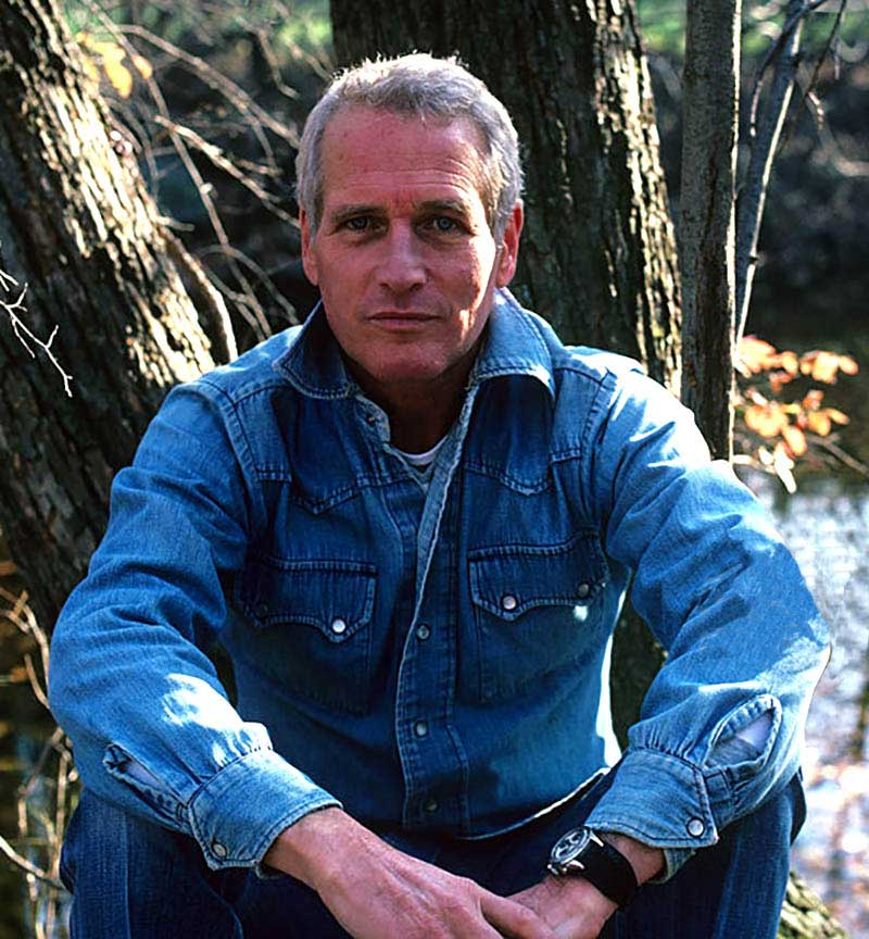 Celebrity: Portrait of screen actor Paul Newman during photo shoot at his home. Westport, CT 11/1/1982 - 11/30/1982CREDIT: Neil Leifer (Photo by Neil Leifer /Sports Illustrated/Getty Images)(Set Number: TC38230 TK2 )