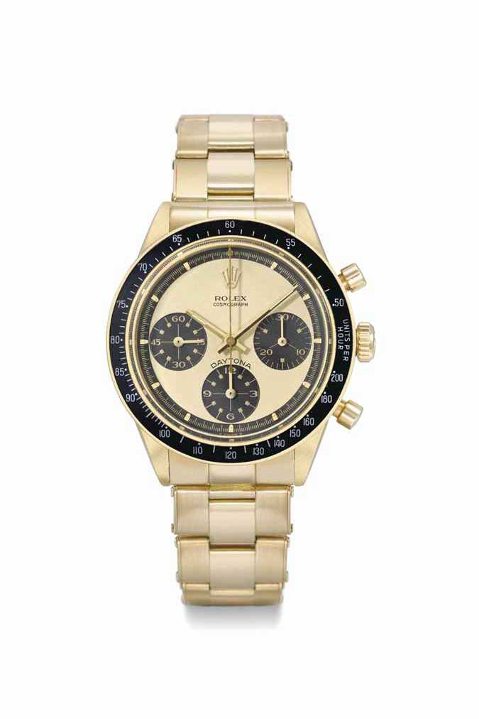A ref. 6239 gold Paul Newman Daytona (christies.com)