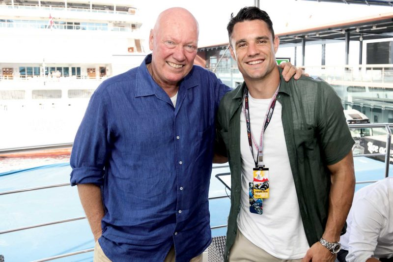 Dan Carter and Jean-Claude Biver