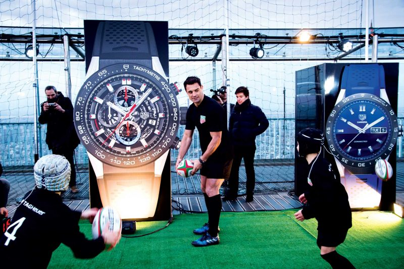 Dan Carter's partnership with TAG Heuer