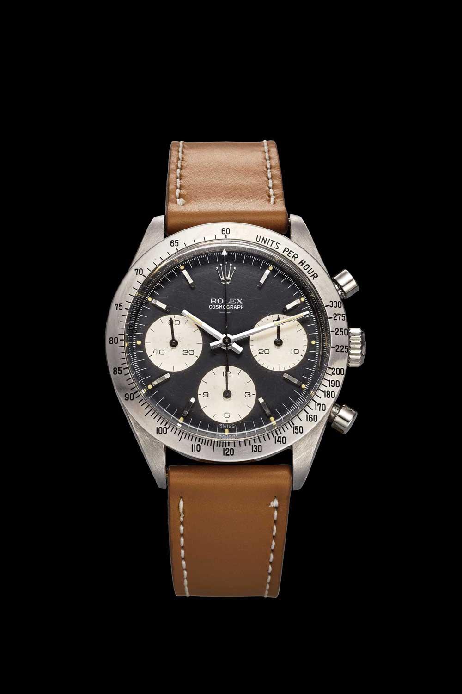 Rolex Daytona ref. 6239 Underline Dial in steel (case no.923332, ref. 6239/6238; made circa 1963)