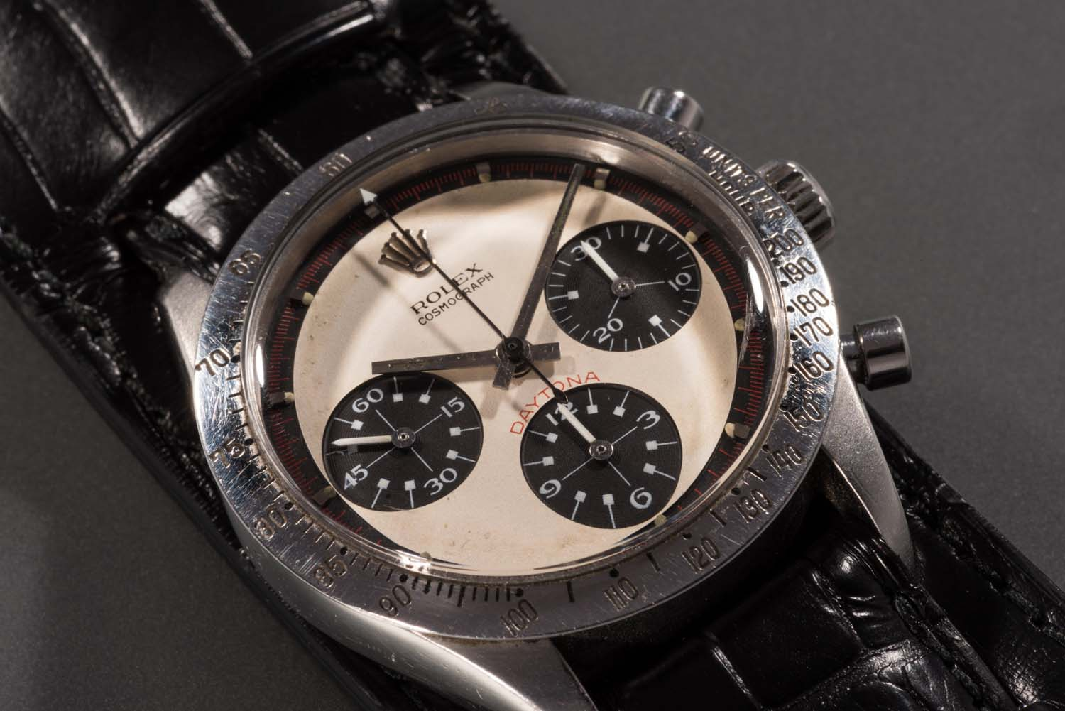 Possibly the most famous wristwatch in the world, Paul Newman's Rolex Daytona ref. 6239 will go on sale on 26 October 2017 at Phillips, New York