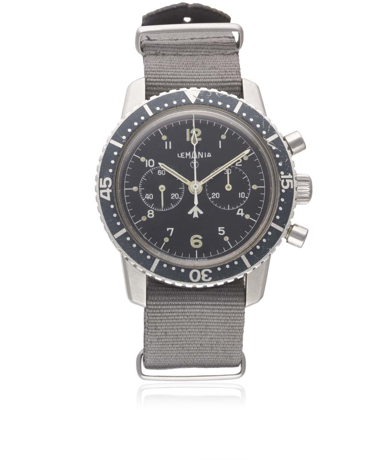 Lemaina (South African Air Force-issued Pilot's Chronograph)