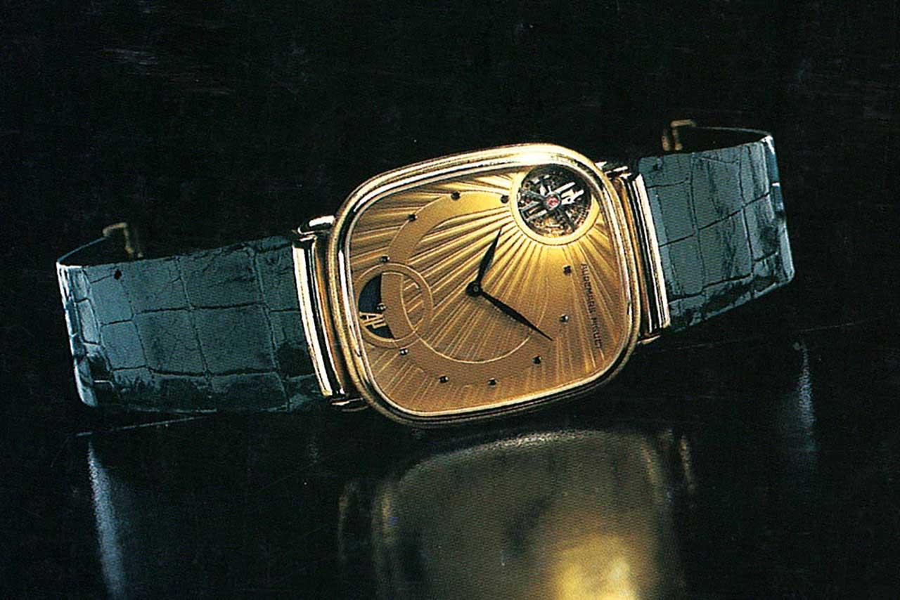 1986 AP tourbillon wristwatch
