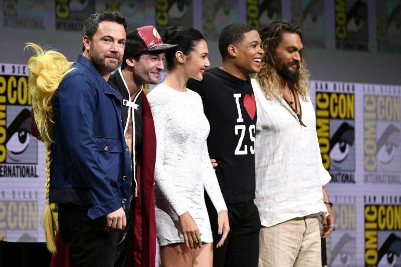 Cast of Justice League film meets fans at Comic Con 2017