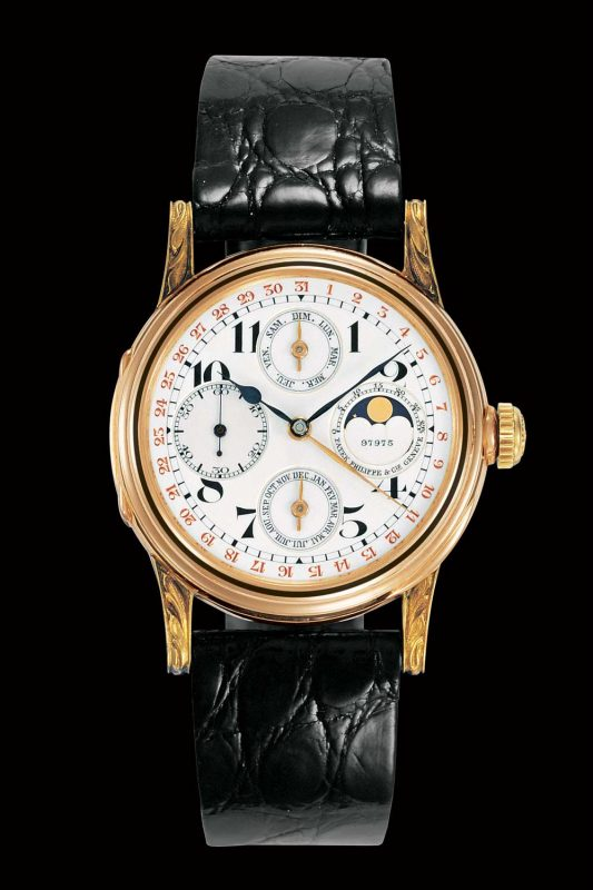 Patek Philippe's first perpetual calendar wristwatch