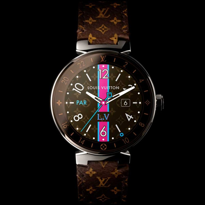 Louis Vuitton Tambour Horizon polished (Monogram)