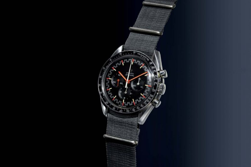 "Omega Speedmaster, ref. 145.012 from 1968, with rare ""Racing Dial."""