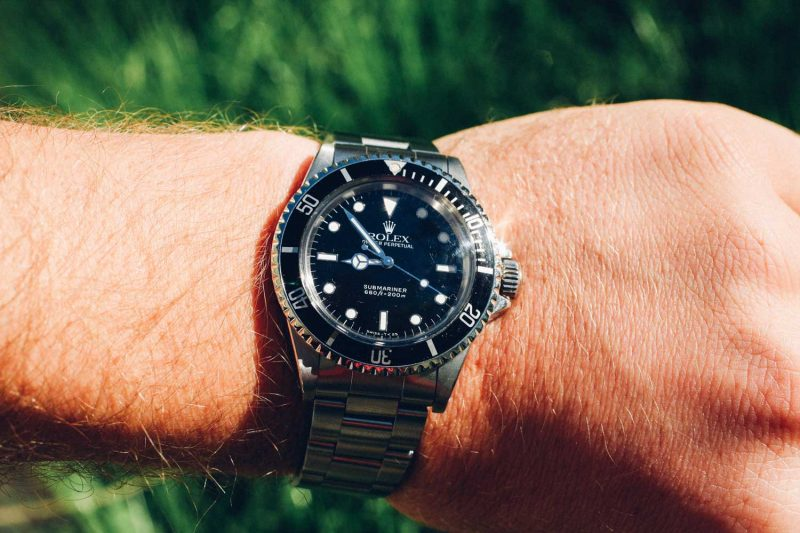 Ted Gushue's 5513 Rolex Sub (Source: Ted Gushue)