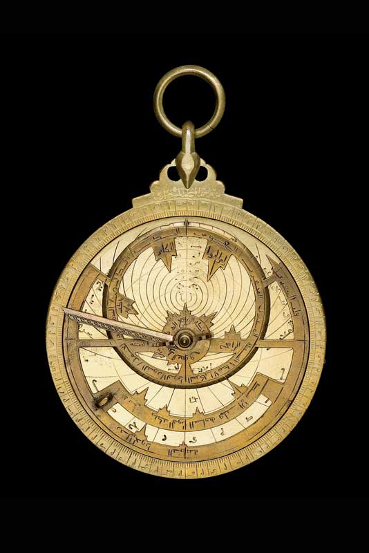 A late-9th-century Syrian astrolabe.