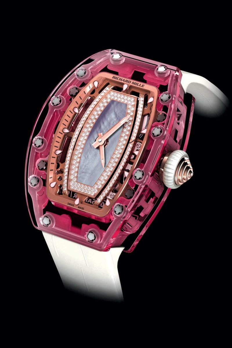 RM 07-02 Automatic Pink Sapphire