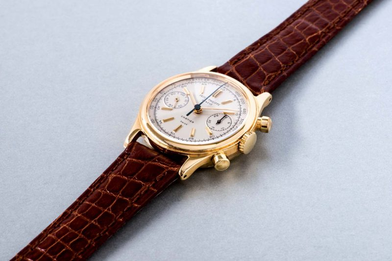 "Patek Philippe ""Tasti Tondi"" Chronograph, ref. 1463 in yellow gold"