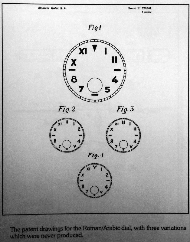 Original patent drawings, showing variations which never went into production