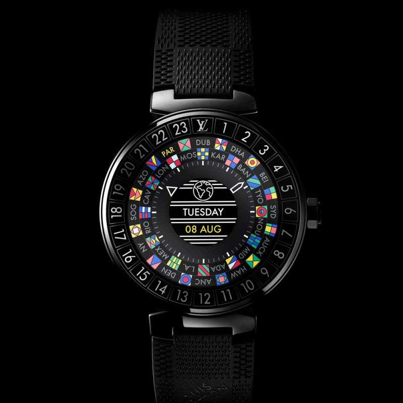 Louis Vuitton Tambour Horizon PVD-coated (Black)