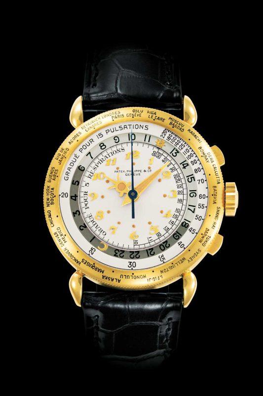 World Time chronograph ref. 1415-1 HU