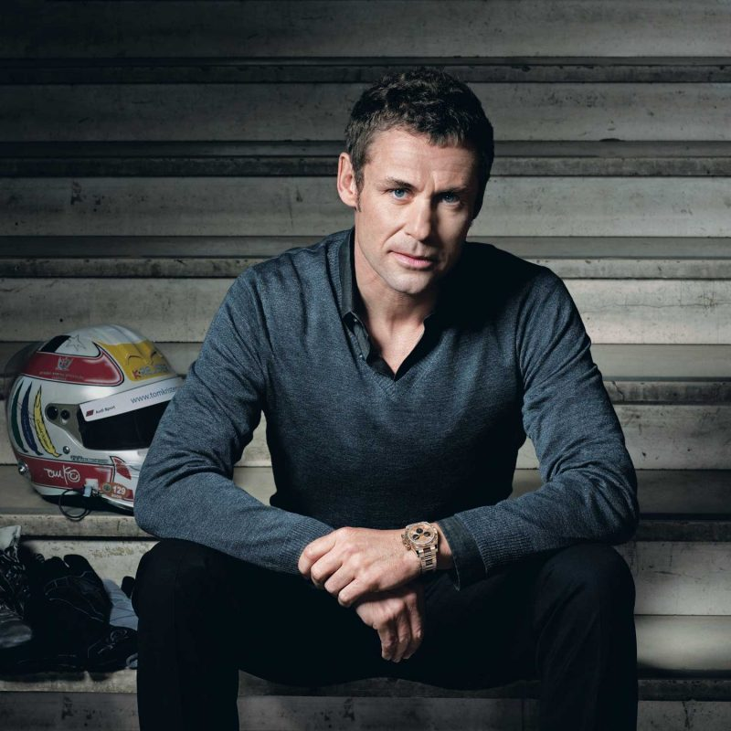 Rolex's testimonees, or ambassadors, include legendary racing driver Tom Kristensen who won at Le Mans a record nine times