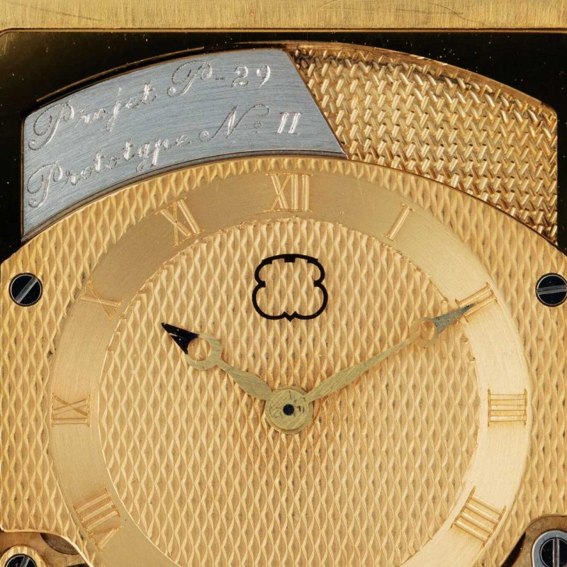 The dial of the Beyner and Grimm prototype sold by Phillips in May 2016 clearly shows the logo of Ebauches SA or, as it later became known, ETA