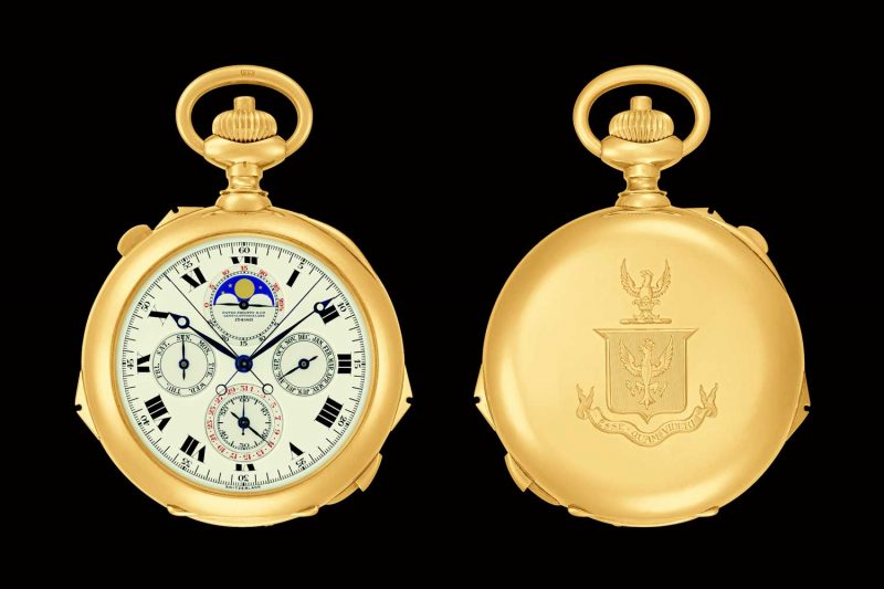 Henry Graves, Jr's Grande Complication Pocket Watch