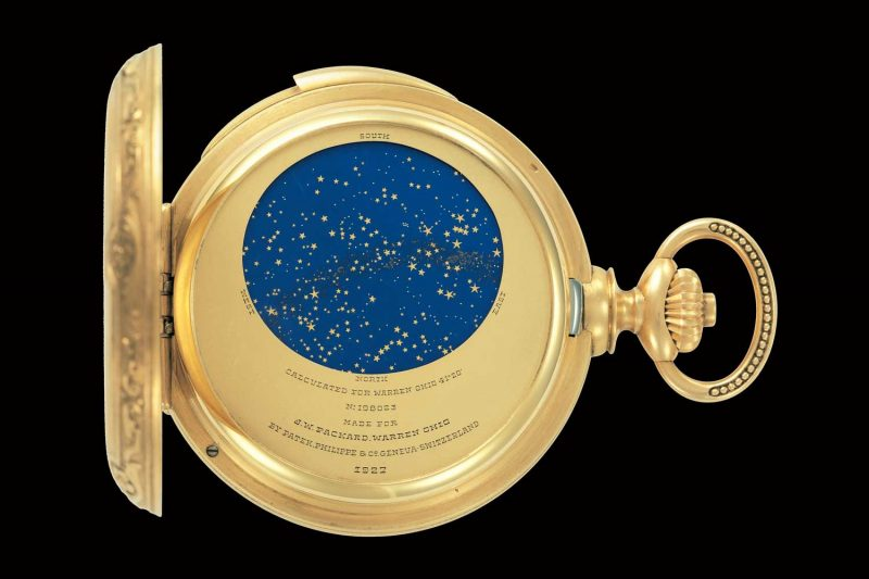 James Ward Packard's Astronomical Pocket Watch (1925)
