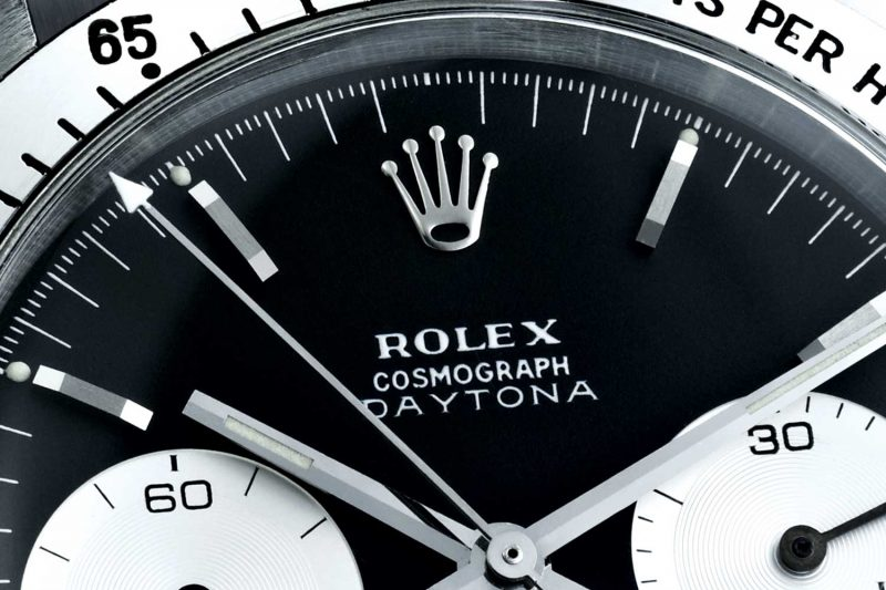 1963 Rolex Cosmograph featured chronograph counters