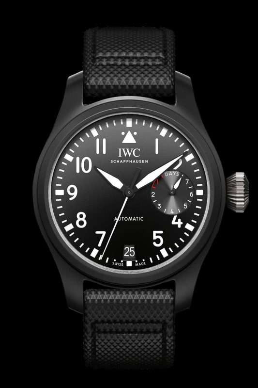 IWC Big Pilot's Watch TOP GUN in black ceramic