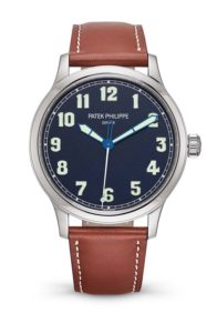 Calatrava Pilot wristwatch Ref. 5522 New York 2017 Special Edition